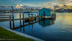Cap's dream house (Krugler) Tags: capsplace florida historical lake placid water hone architecture dock sunset colorful sky clouds paradise