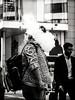 houdini (grizzleur) Tags: olymplus omd olympusomdem10mkii omdstreetphotography bw mono monochrome blackandwhite street photography candid olympusm45mmf18 olympusmzuiko45f18 smoke smoker vapor vapour dampf dampfen dampfer ecigarette cigarette olylove funny decisive moment