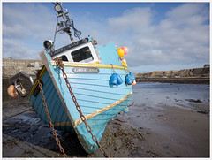 _R061314ed (alexcarnes) Tags: carol anne fishing boat harrow harbour caithness highland scotland ricoh gr alex carnes alexcarnes