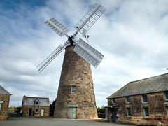 Callington Mill, Oatlands, Tasmania (AdamsWife) Tags: australia tasmania oatlands callingtonmill mill flourmill sails building 1837 johnvincent touristattraction