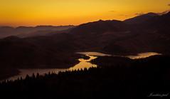 DSC_5061 (jonathan _ paul) Tags: lake water greece karditsa mainland view sky sunset forest valey field