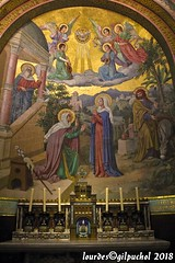 Lourdes 102-A (José María Gil Puchol) Tags: aquitaine autel basilique catholique cathédrale eau eaumiraculeuse fidèle france josémariagilpuchol lourdes paysbasque pélèrinage religion