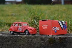 2CV (RON1EEY) Tags: classiccars corgi ford fordtransit citroen renault bmw simca mercedes mercedesbenz bp petrol
