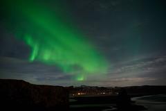Kirkjufjara_aurora_L1090508 (nocklebeast) Tags: auroraborealis iceland kirkjufjarabeach nrd aurora stars ocean beach vik southcoast