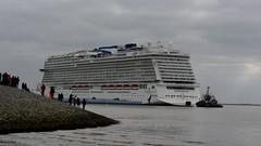 NCL - Norwegian Cruise Lines >Norwegian Bliss< (BonsaiTruck) Tags: papenburg werft meyerwerft ncl norwegian cruise lines bliss schiff ship boat bateaux kreuzfahrtschiff cruiseliner passagierschiff