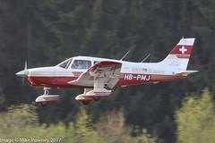 HB-PMJ - 1989 build Piper PA-28-236 Cherokee Dakota, inbound to Runway 24 at Friedrichshafen during Aero 2017 (egcc) Tags: 2811027 aero aerofriedrichshafen aerofriedrichshafen2017 aeroclubdegeneve bodensee cherokee dakota edny fdh friedrichshafen groupevolàmoteur hbpmj lightroom pa28 pa28236 piper