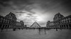 Louvre (glank27) Tags: louvre museum paris karl glanville canon eos 5d mkiv ef 1635mm f4l long exposure blackwhite movement blur sky square 169 city landmark historic
