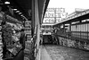 newsstand and alley, Pike Place Market, Seattle, Washington, USA (Plan R) Tags: newsstand alley pike place market seattle washington blackandwhite leica m 240 summilux 35mm