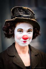 (La) clown (Fernando.P.Photo) Tags: clown rue street maquillage portrait