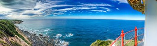 View from the Cape Otway lighthouse