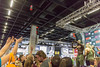 Visitors catching free sport plastic bottles thrown by Kevin Osazee - FIBO Cologne 2018 (marcoverch) Tags: fitness messe food trends fibo health köln ernährung lifestyle cologne kölnmesse competition wettbewerb people menschen track spur commerce handel many viele exhibition ausstellung soccer fusball sportsfan sportfan championship meisterschaft festival city stadt group gruppe athlete athlet vehicle fahrzeug crowd menge race rennen performance football stadium stadion game spiel aircraft boeing transport auto world railroad cherry bicycle asia blossom visitors catching free sport plasticbottles fibocologne2018 kevinosazee gorillawear