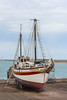 Vieux Crabe (ship, 1951) (. Christian Ferrer .) Tags: twomasted sète ship nikon breakwater harbour ketch