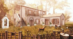 Soon it will be time to rise and shine (Alexa Maravilla/Spunknbrains) Tags: ionic thechapterfour jian theepiphany anhelo happymood secondlife outdoors building architecture furniture animals ponies chicken home decor landscaping