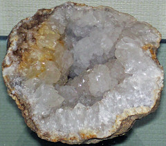 Geode (lower Warsaw Formation, Lower Mississippian; Warsaw, Hancock County, Illinois, USA) (James St. John) Tags: geode geodes warsaw hancock county illinois formation osagean mississippian quartz