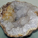 Geode (lower Warsaw Formation, Lower Mississippian; Warsaw, Hancock County, Illinois, USA)