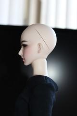Soul Doll Hari head on Iplehouse old JID body. (GroovyBlue) Tags: iplehousejid souldoll souldollhari bjdhybrid