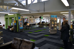 Wainuiomata Library In Situ Visualisation Render (Before and After) (Aaron & Radhika) Tags: wainuiomata library before after interior design textile visualisation visualization photoshop photoshopcc creative cloud sketchup floors carpet tiles