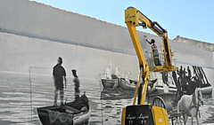 Olhão 2017 - Os Artistas 01 (Markus Lüske) Tags: portugal algarve olhao olhão ria riaformosa formosa kunst art arte graffiti graffito wandmalerei artist künstler kuenstler mural muralha street streetart urbanart urban lüske lueske