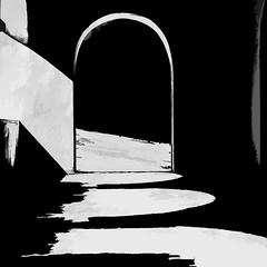 0656LTSL Light and Shade (foxxyg2) Tags: churches monasteries chapels orthodax greekorthodox naxos cyclades greece greekislands islandhopping islandlife light shade contrast mono monochrome bw blackwhite sopaz topazsoftware silverefex niksoftware topazsimplify