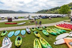 Bala Lake, Gwynedd, Wales. UK (staneastwood - 2 mil views - Thank you all.) Tags: bala wales unitedkingdom gb water lake staneastwood stanleyeastwood canoe sail sailboard