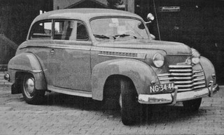 NG-34-44 OPEL Olympia Limousine 1951