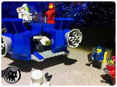 50-06 Fitting in the Buggy (captainmutant) Tags: afol classic space lego ideas legospace legography photography minifig minifigs minifigure minifigures moc sciencefiction science fiction scifi exploration brickography toy custom