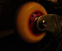 I am the wheel to your board:) (mkennedy2193) Tags: macromonday transportation skateboard wheel macro monday