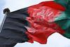 Flag of Afghanistan flying on Bibi Mahru Hill, Kabul / Afghanistan (ANJCI ALL OVER) Tags: afghanistan centralasia asia افغانستان kabul کابل
