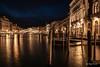 Ponte di Rialto (Magda Banach) Tags: canal canalgrande canoneos5dmarkiv italy pontedirialto rialtobridge wenecja bridge lighthouses lights night rialto venice europa
