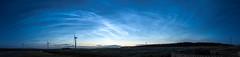 Full 180 (Gordon Mackie) Tags: noctilucentclouds nlc caithness panorama