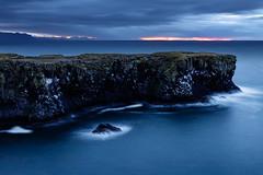 Iceland #10 (Kai-Uwe Klauss) Tags: island urlaub arnastapi snæfellsnes snaefellsjoekull iceland landscape felsen wasser wellen brandung berge sonnenaufgang kaiuweklauss skandinavien scandinavia