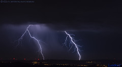 2018.06.20 - 222940 (NIKON D7200) [Carvalha] (Nuno F. C. Batista) Tags: clouds nuvens portugal lusoskies lightning relâmpago thunderstorm trovoada storm night sky nikon severeweather storms photography margemsul skies portuguese meteorology cumulunimbus d7200 arrudadosvinhos carvalha