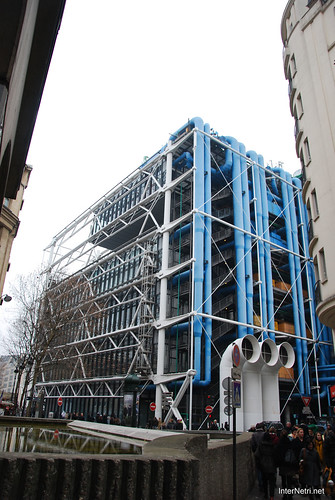 Центр Помпіду,  Париж, Франція France InterNetri 1166