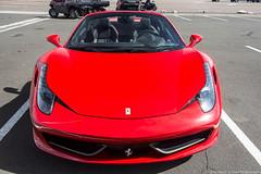 Standard Spec (Hunter J. G. Frim Photography) Tags: supercar colorado ferrari 458 italia spider convertible red rosso corsa gray grigio ferro v8 italian ferrari458italia ferrari458spider ferrari458