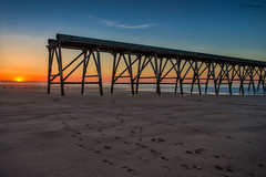 Steetly Pier (Raj Jayaraj Photography) Tags: steetlypier hartlepool outdoor sunset longexposure ngc