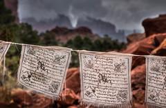 IMG_9438_39_40hdr.jpg (Greg Meyer MD(H)) Tags: things arizona sedona red buddha prayerflag flags