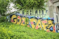 Goze, Dafse, Zealot (NJphotograffer) Tags: graffiti graff new jersey nj trackside rail railroad bridge goze dafse ocp crew zealot roller aids