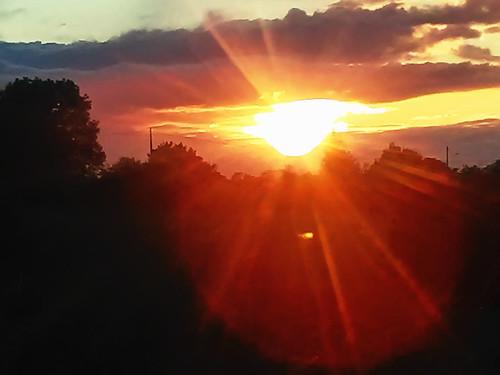soleil auréole