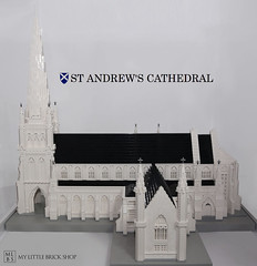 St Andrew's Cathedral (crayonbricks) Tags: lego moc singapore afol monuments