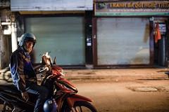 taking a break in hanoi (Lutze Wild) Tags: hanoi vietnam travel urban street streetphotography people person outdoor night evening motorbike