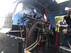 P1080624 S 2018-06-16 - Tanfield - Legends of Industry - Steam Gala - NCB No.60 (GeordieMac Pics) Tags: ©2018georgemcvitieallrightsreserved tanfield railway legendsofindustry lumix steamgala panasonic cab locomotive steamengine ncb no60 060st dmc geordiemac