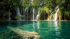 Plitvice Lakes (hjuengst) Tags: plitvicelakes kroatien croatia plitvicerseen jezera nationalpark waterfall wasserfall lake see