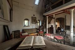 Abandoned home made chapel, Scottish Highlands