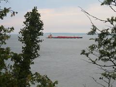 IMG_5138 (clare_and_ben) Tags: 2018 wisconsin doorcounty rockisland rockislandstatepark lake lakemichigan barge boat tugboat