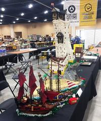 Battle (ZackM.) Tags: lego brickworld pirate classic chicago convention