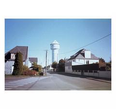 "(""Que la bête meure"") Tags: olympusxa1 fujichromeprovia100f expired e6 focalefixe film analog watertower châteaudeau"