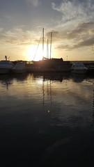 Barche in controluce (RobAnt57) Tags: barche controluce mare