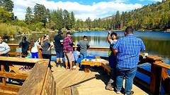 Fishermen at Jenks Lake (EmperorNorton47) Tags: sanbernardinonationalforest angelusoaks california photo digital spring pier fishermen lake jenkslake strangers
