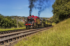 KWVR_2018_06_24_228 (Phil_the_photter) Tags: steam steamengine steamloco steamrailway steamgala keighley kwvr oakworth 34092 cityofwells 1054 coaltank ivatt2 ivatttank 41241 royalscot 46100 bigjim s160 5280 standard5 75078 black5 blackfive 45212