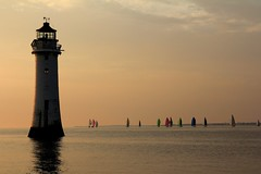 IMG_3291 (Lindsay Todd) Tags: coast seascape seaside sea newbrighton wirral lighthouse sunset